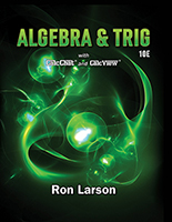 Algebra and Trigonometry 10e by Ron Larson