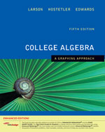College Algebra: A Graphing Approach 5e