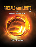 Precalc with Limits 4e by Ron Larson
