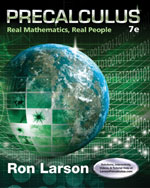 Precalculus: Real Mathematics, Real People 7e