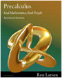 Precalculus: Real Mathematics, Real People, Alternate Edition 6e